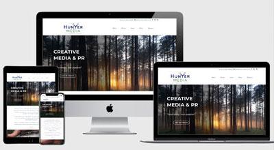 Hunter Media website